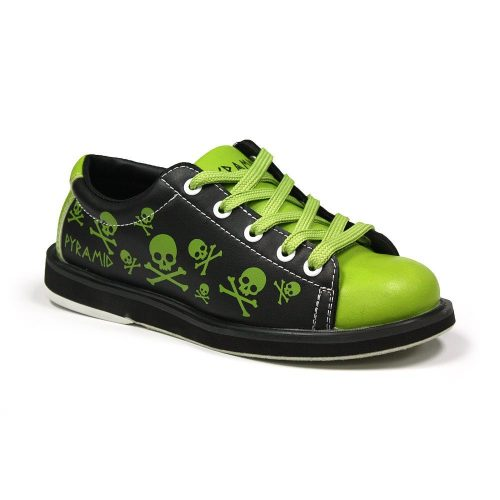 Pyramid Youth Skull Green/Black - Bowling Shoes