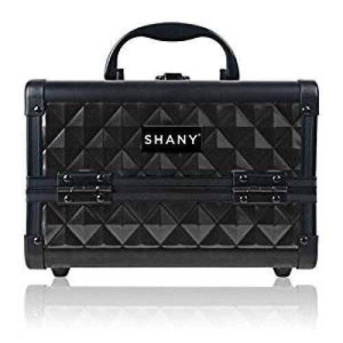 SHANY Mini Makeup Train Case With Mirror - Twilit - Makeup Train Cases