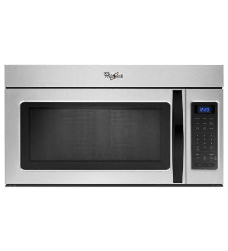 Whirlpool WMH31017AD 1.7 Cu. Ft. Stainless Look Over-the-Range Microwave - Over the Range Microwaves