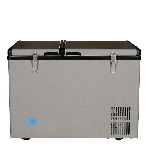 Whynter FM-62DZ Dual Zone Portable Refrigerator/Freezer, 62-Quart - Deep Freezers