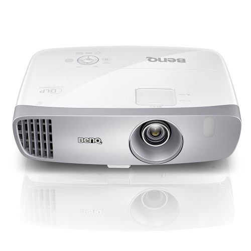 BenQ DLP HD 1080p Projector (HT2050) - 3D Home Theater Projector with All-Glass Cinema Grade Lens and RGBRGB Color Wheel - Short Throw Projectors