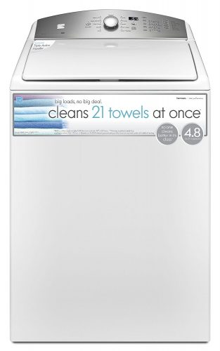 Kenmore 4.8 cu.ft. Top Load Washer with Triple Action Impeller in White, includes delivery and hookup - Portable Washing Machine