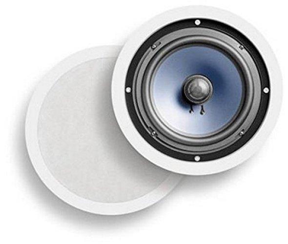 Polk Audio RC80i 2-Way In-Ceiling/In-Wall Speakers (Pair, White) - In-wall Speakers