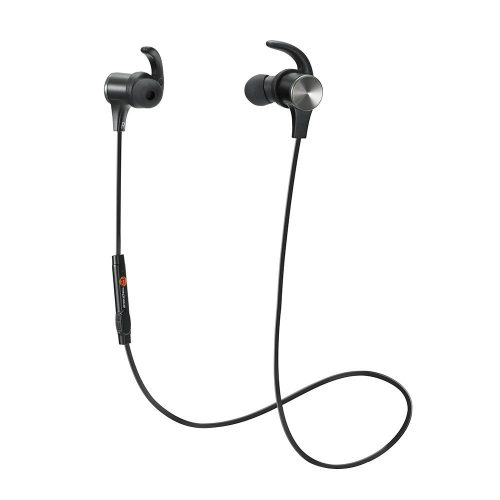 TaoTronics Wireless 4.1 Magnetic Earbuds aptX Stereo Earphones - Wireless Earbuds Under 50