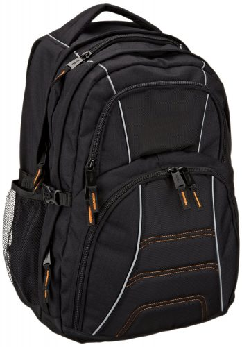 AmazonBasics Backpack for Laptops up to 17-inches - 17-inch laptop backpacks c62ff17815