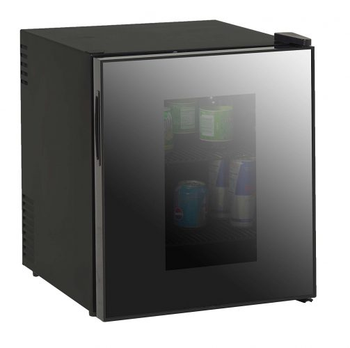 Avanti 1.7-Cubic Foot Superconductor Beverage Cooler W/Mirrored Finish Glass Door - best beverage refrigerators
