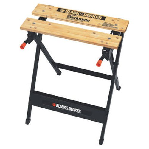 Black & Decker WM125 Workmate 125 350-Pound Capacity Portable Work Bench - Portable Folding Workbenches