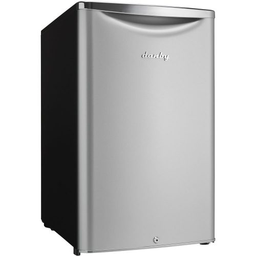 Danby DAR044A6DDB 4.4 cu.ft. Contemporary Classic Compact All Refrigerator, Iridium Silver Stee - best beverage refrigerators