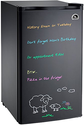 Igloo FR326-WHITE Erase Board Refrigerator with Neon Markers, 3.2 cu. ft - best beverage refrigerators