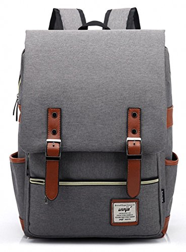 Kenox Vintage Laptop Backpack College Backpack School Bag Fits 15-inch  Laptop - 15 inch 1203e10e18