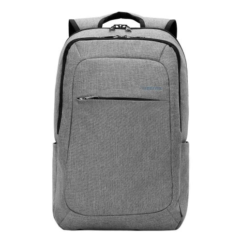Kopack Slim Business Laptop Backpacks Anti-thief Tear/water Resistant Travel Bag fits up to 15 15.6 Inch MacBook Computer Backpack in Gray - 15 inch laptop backpack