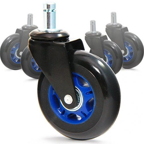 Top 10 Best Office Chair Caster Wheels In 2019 Fit For