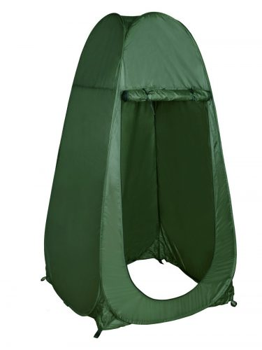 TMS Portable Outdoor Green Pop up Tent Camping Shower Privacy Toilet Changing Room with Window - Best Shower Tents