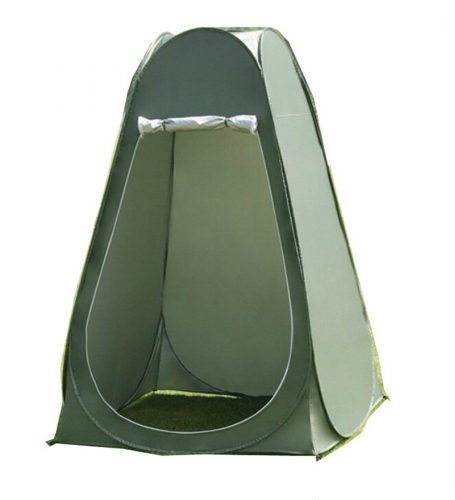 Faswin Pop Up Pod Toilet Tent Privacy Shelter Tent Camping Shower Potable Outdoor Changing Room Dark Green - Best Shower Tents