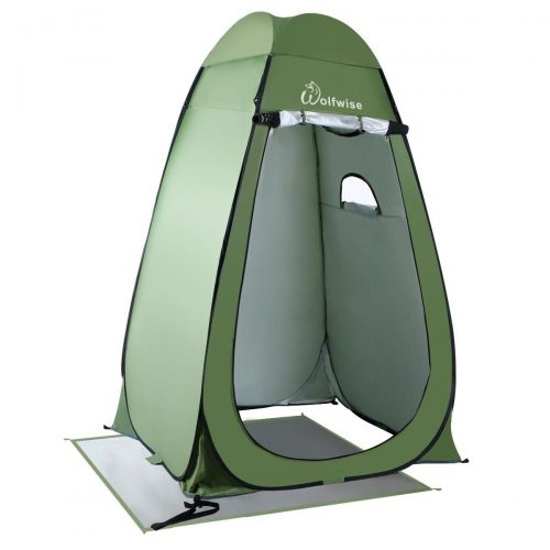 WolfWise Upgrade Instant Pop-Up Privacy Tent - Best Shower Tents