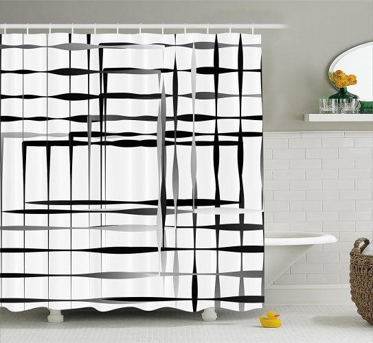 Ambesonne Modern Art Home Decor Shower Curtain- Shower Curtain