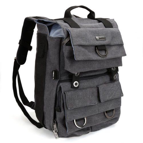 Camera Backpack, Evecase Canvas DSLR Camera Travel Backpack with 14 inch Laptop - 14-inch laptop backpacks