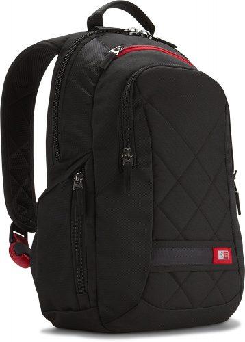 Case Logic DLBP-114 14-Inch Laptop Backpack Bag - Black - 14-inch laptop backpacks