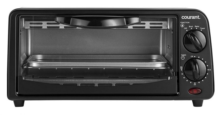 Courant TO 621K 2 Slice Compact Toaster Oven