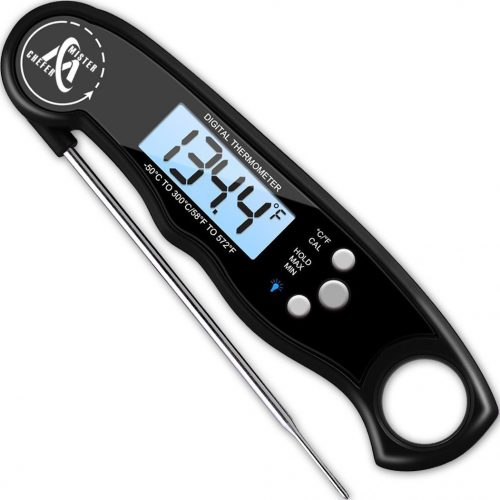 GDEALER Waterproof Meat Thermometer - Kitchen Thermometers