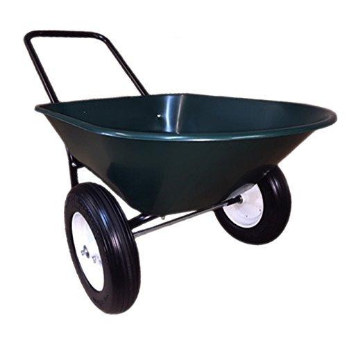 Garden Star 70006 Flat Free Yard Rover Wheelbarrow - 2-WHEEL WHEELBARROW