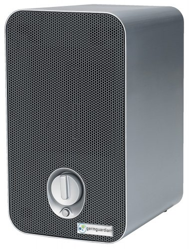 GermGuardian AC4100 3-in-1 Air Purifier with HEPA Filter, UV-C Sanitizer, Captures Allergens, Smoke, Odors, Mold, Dust, Germs, Pets, Smokers, Germ Guardian Air Purifier - Air Purifier