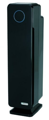 GermGuardian AC5350B Elite 4-in-1 Air Purifier with True HEPA Filter, UV-C Sanitizer, Captures Allergens, Smoke, Odors, Mold, Dust, Germs, Pets, Smokers, 28-Inch Germ Guardian Air Purifier - Air Purifier