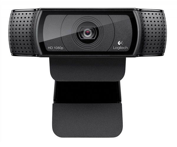 Logitech HD Pro Webcam C920, Widescreen Video Calling and Recording, 1080p Camera, Desktop or Laptop Webcam. - Wireless Webcam