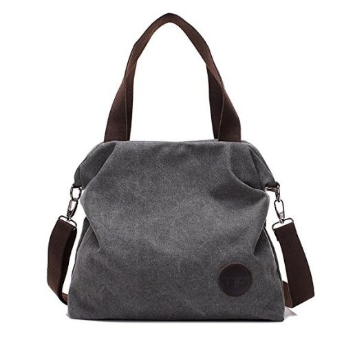 Mfeo Women Casual Canvas Shoulder Bags - Messenger Bags for Women