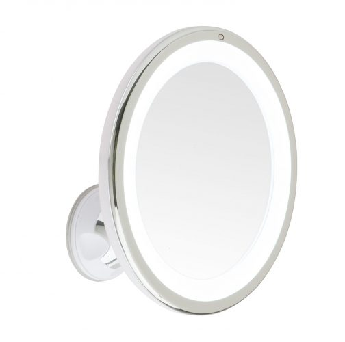 Mirrorvana 8-Inch 5X Magnifying LED Lighted Vanity Makeup Mirror - Ring Lighted Mirrors