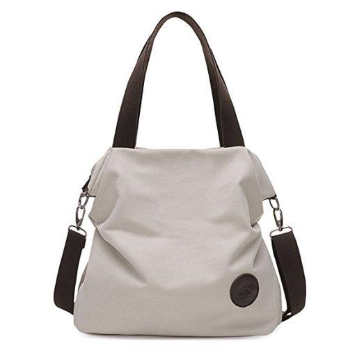 Sanxiner Women's Canvas Tote Bag - Messenger Bags for Women