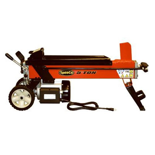 Special Speeco Products S40100500 Log Splitter, Electric, 110-Volt, 5-Ton - Electric Log Splitters