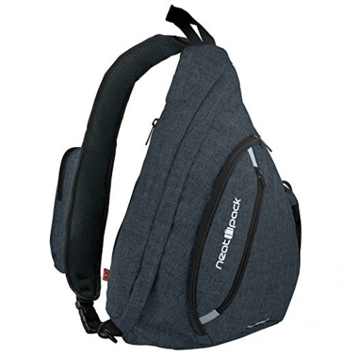 Versatile Canvas Sling Bag   Travel Backpack   Wear Over Shoulder or  Crossbody - Sling Bags 48508ab422