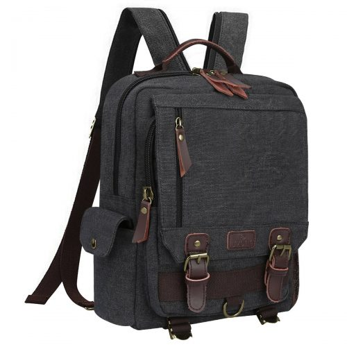 S-Zone Sling Canvas Cross Body 13-inch Laptop Messenger Bag Shoulder  Backpack ( 026b7b59ee