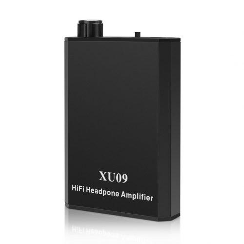 YOHOOLYO Portable Headphone Amplifier Audio Powered Headphone Amplifier Black