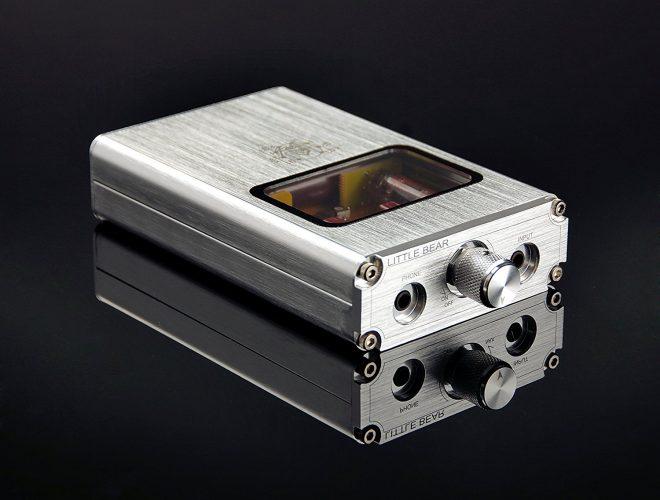 Little Bear B4 Portable Vacuum&Valve Tube Headphone Amplifier Stereo Hi-Fi Amp built-in battery