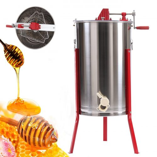 Ridgeyard Pro 3 Frame Manual Stainless Steel Bee Honey Extractor