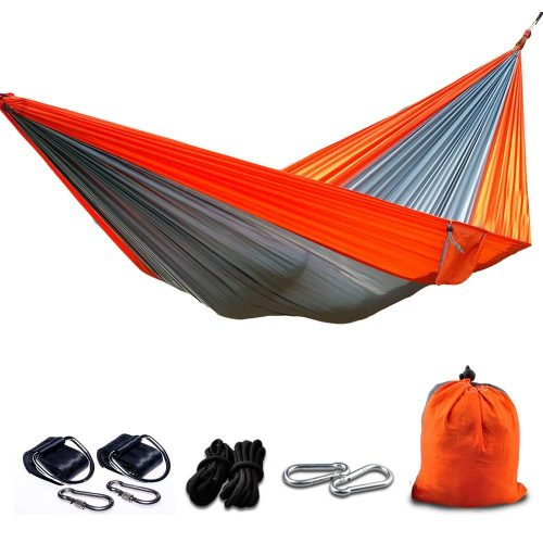 Camping Hammocks, BIAL Portable Nylon Garden Hammocks with Tree Straps for Hiking Backpacking Travel Beach Yard Patio Outdoors