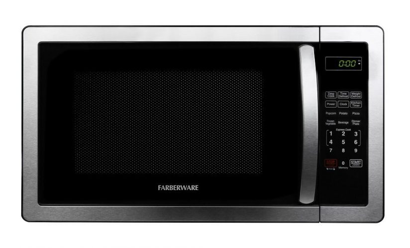 Farberware Classic 1000-Watt Microwave Oven - Stainless Steel Microwave Oven
