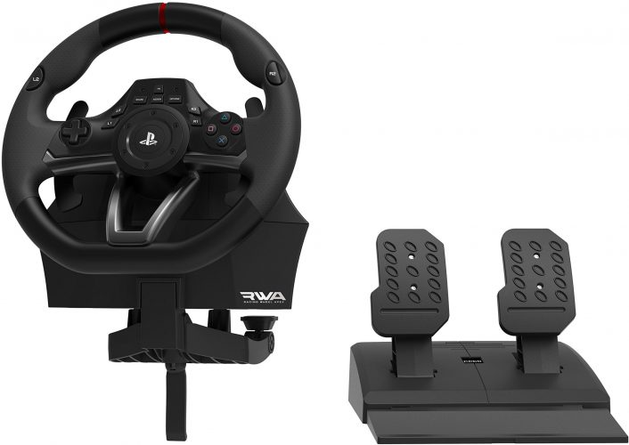 HORI Racing Wheel Apex for PlayStation 4/3, and PC - racing steering wheel