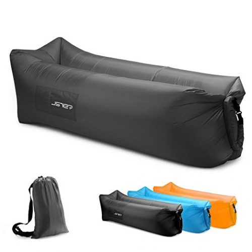 JSVER Inflatable Lounger Air Sofa with Portable Package for Travelling, Camping, Hiking, Pool and Beach Parties - Inflatable Couch