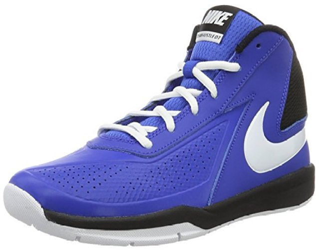 NIKE Kids' Team Hustle D 7 Basketball Shoe (GS) - Basketball Shoes for Kid