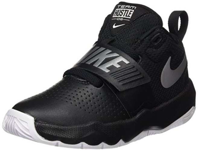 Nike Boy's Team Hustle D 8 Basketball Shoe - Basketball Shoes for Kid