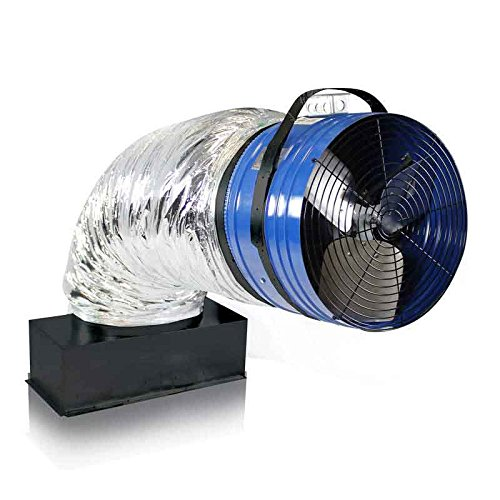 QuietCool QC CL-4700 Original Classic Fan Model - Whole House Fan