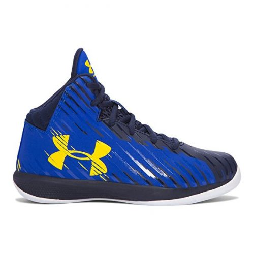 Under Armour Boys' Pre-School UA Jet Mid Basketball Shoes - Basketball Shoes for Kid
