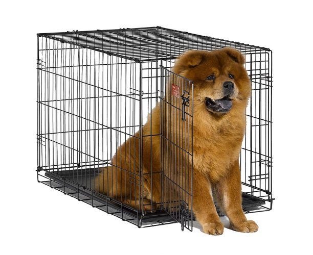 Middle West iCrate Single Door Folding Metal Dog Crates