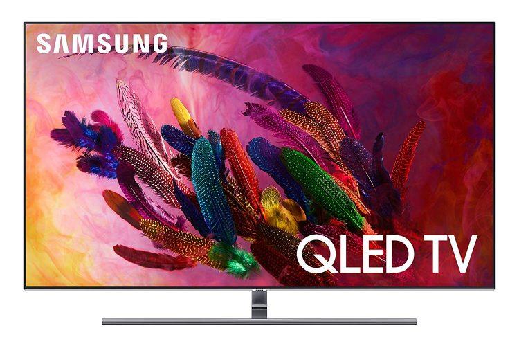 """Samsung QN65Q7F Flat 65"""" QLED 4K UHD 7 Series Smart TV 2019"""