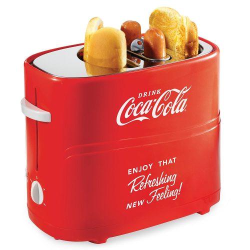 Longing HDT600COKE Coca-Cola Pop-Up Hot Dog Toaster