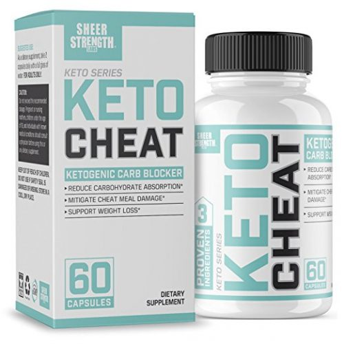 Extra Strength Ketogenic Carb Blocker & Appetite Suppressant - Promotes Healthy Weight Loss - White Kidney Bean, Green Tea Extract, & Cinnamon - 60 Fat Burner Pills - Sheer Strength Labs - Appetite Suppressant