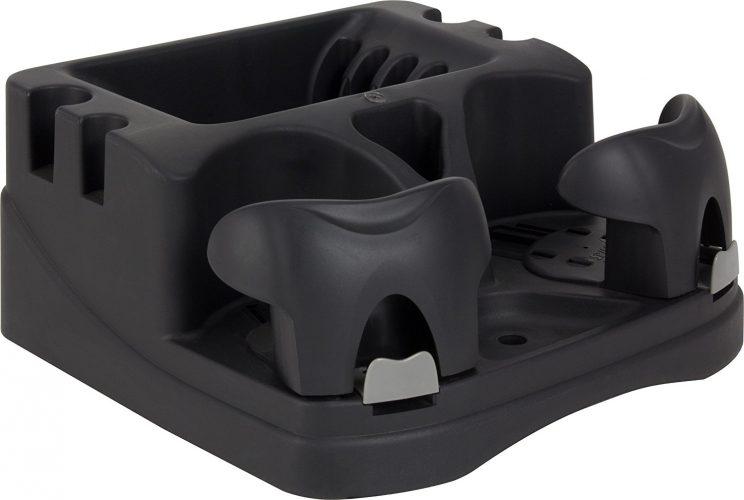 Hopkins EMIC-BLA Go Gear Euro Mini Console, (Black) - Car Cup Holders